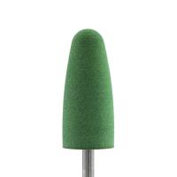 Полир силикон-карбидный Конус, 10 мм, тонкий, 610, зеленый