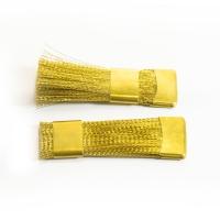Щетка для чистки насадок золотая