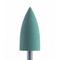 Полир силикон-карбидный Конус, 8 мм, тонкий, 408, зеленый