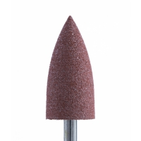 Полир силикон-карбидный Конус, 8 мм, грубый, 408, коричневый