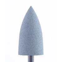 Полир силикон-карбидный Конус, 10 мм, средний, 410, серый