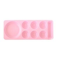 Палитра для краски мини, розовая