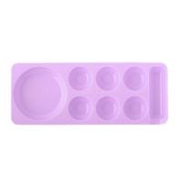 Палитра для шеллака, фиолетовая, малая