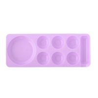 Палитра для краски мини, фиолетовая