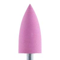Silver Kiss, Полир силикон-карбидный конус, 8 мм, тонкий, 408, розовый