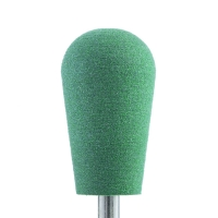 Silver Kiss, Полир силикон-карбидный Конус обратный, 10 мм, тонкий, 510, зеленый