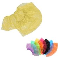 Медсервис Плюс, Бахилы одноразовые полиэтиленовые, жёлтые, 50 пар/уп.