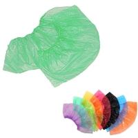Медсервис Плюс, Бахилы одноразовые полиэтиленовые, зелёные, 50 пар/уп.