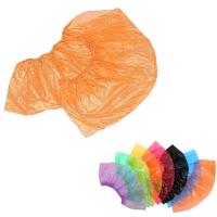 Медсервис Плюс, Бахилы одноразовые полиэтиленовые, оранжевые, 50 пар/уп.