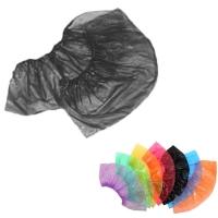 Медсервис Плюс, Бахилы одноразовые полиэтиленовые, чёрные, 50 пар/уп.