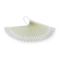 Палитра - веер мини молочная/матовая на кольце, 24 шт