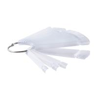 Палитра веер на кольце 50 цветов, прозрачная