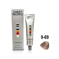 Constant Delight, Крем-краска DELIGHT TRIONFO для окрашивания волос 9-69 блондин шоколадно-фиолетовый 60 мл