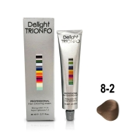 Constant Delight, Крем-краска DELIGHT TRIONFO для окрашивания волос 8-2 светло-русый пепельный 60 мл