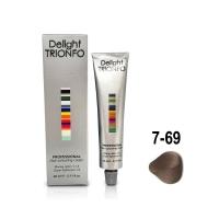 Constant Delight, Крем-краска DELIGHT TRIONFO для окрашивания волос 7-69 средне-русый шоколадно-фиолетовый 60 мл