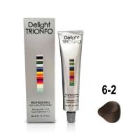 Constant Delight, Крем-краска DELIGHT TRIONFO для окрашивания волос 6-2 темно-русый пепельный 60 мл