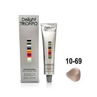 Constant Delight, Крем-краска DELIGHT TRIONFO для окрашивания волос 10-69 светлый блондин шоколадно-фиолетовый 60 мл