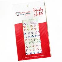 Кристалл Nails, Наклейка 5D слайдер для дизайна ногтей SP 026
