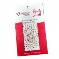Кристалл Nails, Наклейка 5D слайдер для дизайна ногтей SP 027