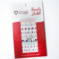 Кристалл Nails, Наклейка 5D слайдер для дизайна ногтей SP 036