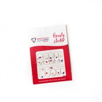 Кристалл Nails, Наклейка 5D слайдер для дизайна ногтей SP 050