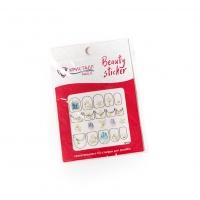 Кристалл Nails, Наклейка 5D слайдер для дизайна ногтей SP 065