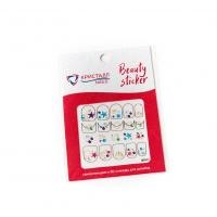 Кристалл Nails, Наклейка 5D слайдер для дизайна ногтей SP 077