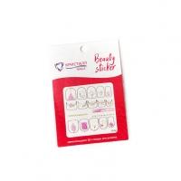 Кристалл Nails, Наклейка 5D слайдер для дизайна ногтей SP 083