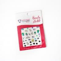Кристалл Nails, Наклейка 5D слайдер для дизайна ногтей SP 109