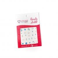 Кристалл Nails, Наклейка 5D слайдер для дизайна ногтей SP 126