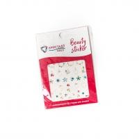 Кристалл Nails, Наклейка 5D слайдер для дизайна ногтей SP 128