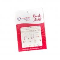Кристалл Nails, Наклейка 5D слайдер для дизайна ногтей SP 158