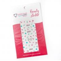 Кристалл Nails, Наклейка 5D слайдер для дизайна ногтей SP 206