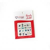 Кристалл Nails, Наклейка 5D слайдер для дизайна ногтей SP 240