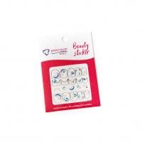 Кристалл Nails, Наклейка 5D слайдер для дизайна ногтей SP 242