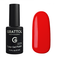 Гель-лак Grattol GTC083 Pure Red (9 мл.)