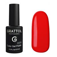 Гель-лак Grattol GTC084 Scarlet (9 мл.)