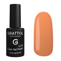 Гель-лак Grattol GTC120 Sunny Orange (9 мл.)
