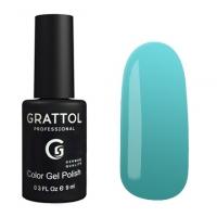 Гель-лак Grattol GTC124 Aquamarine (9 мл.)