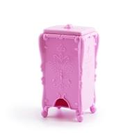 Бокс для хранения безворсовых салфеток, розовый
