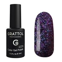 Гель-лак Grattol Хамелеон GTG002 Galaxy Amethyst (9мл)