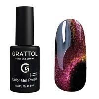 Гель-лак Grattol Color Gel Polish 9D Cat Eye 04, 9 мл