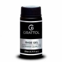 Топ для гель-лака без липкого слоя Grattol No Wipe Top Gel (20 мл.)