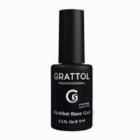 Топ для гель-лака без липкого слоя Grattol No Wipe UV Filter Top Gel (9мл.)