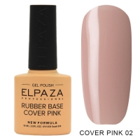 ELPAZA Камуфлирующая каучуковая база Cover Pink №02