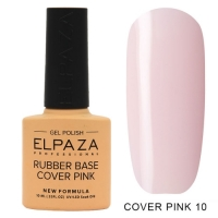 ELPAZA Камуфлирующая каучуковая база Cover Pink №10