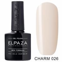 ELPAZA Гель-лак Charm №026 (10 мл)
