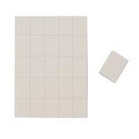 Daccordo, Бафы-мини квадрат белый