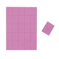 Daccordo, Бафы-мини квадрат розовый