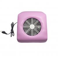 Пылесос маникюрный настольный Nail Dust Collector 24W розовый